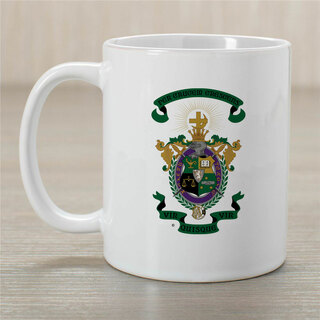 Lambda Chi Alpha Greek Crest Coffee Mug