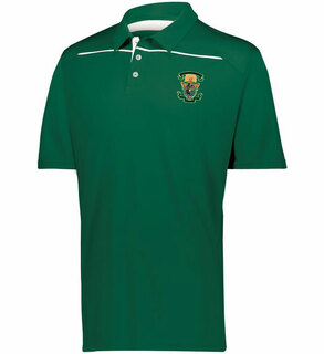 Lambda Chi Alpha Greek Crest Emblem Defer Polo