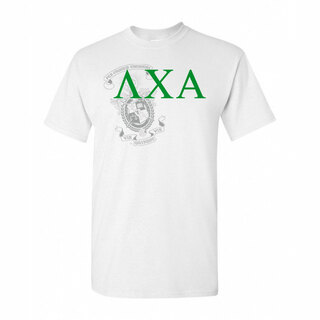 Lambda Chi Alpha Greek Crest - Shield T-Shirt