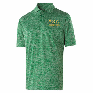 Lambda Chi Alpha Greek Letter Electrify Polo