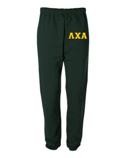 Lambda Chi Alpha Greek Lettered Thigh Sweatpants