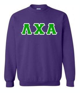Lambda Chi Alpha Lettered Crewneck Sweatshirt