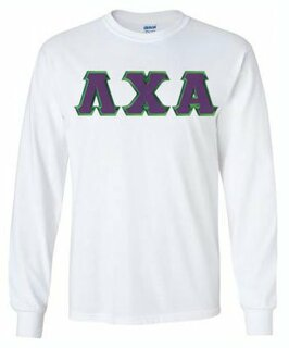 Lambda Chi Alpha Lettered Long Sleeve Shirt