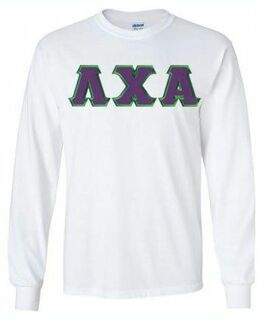 Lambda Chi Alpha Lettered Long Sleeve Shirt
