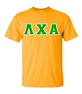 Lambda Chi Alpha Lettered T-Shirt