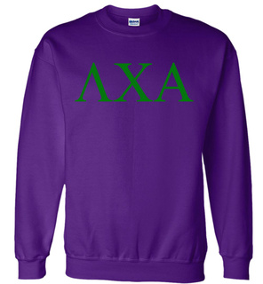 Lambda Chi Alpha Lettered World Famous $19.95 Greek Crewneck