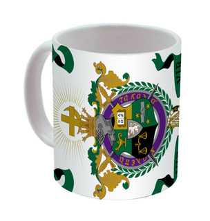Lambda Chi Alpha Mega Crest - Shield Coffee Mug