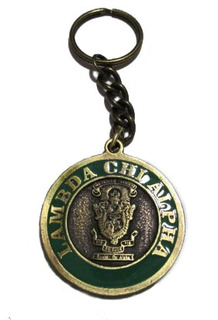 Lambda Chi Alpha Metal Fraternity Key Chain