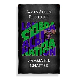 Lambda Chi Alpha Nations Giant Flag