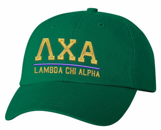 Lambda Chi Alpha Old School Greek Letter Hat