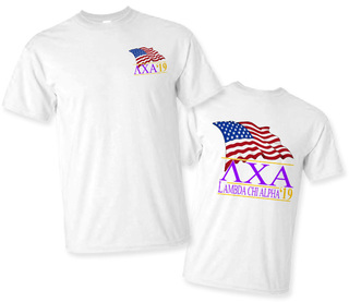 Lambda Chi Alpha Patriot Limited Edition Tee- $15!