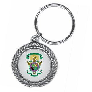 Lambda Chi Alpha Pewter Key Ring