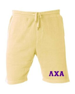 Lambda Chi Alpha Pigment-Dyed Fleece Shorts