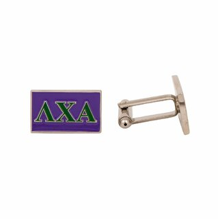 Lambda Chi Alpha Rectangle Cuff Links