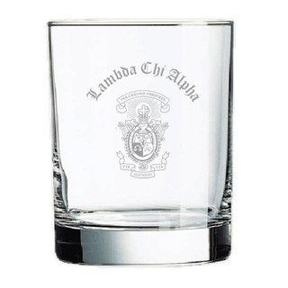 Lambda Chi Alpha Old Style Glass