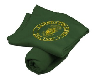 Lambda Chi Alpha Sweatshirt Blanket