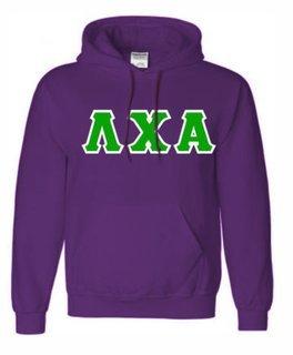 Lambda Chi Alpha Sewn Lettered Sweatshirts