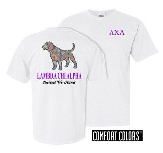 Lambda Chi Alpha United We Stand Comfort Colors T-Shirt
