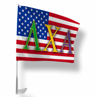 Lambda Chi Alpha USA Car Flag
