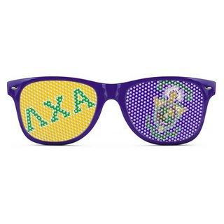Lambda Chi Alpha Wayfarer Style Lens Sunglasses