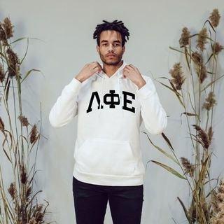 Lambda Phi Epsilon Arched Hooded Sweatshirt