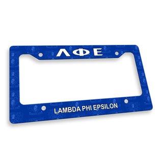 Lambda Phi Epsilon License Plate Frame