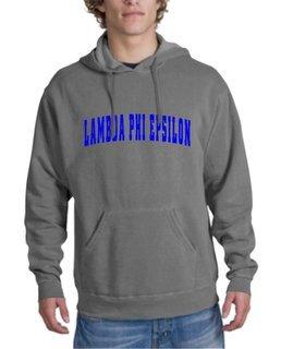 Lambda Phi Epsilon Letterman Hoodie