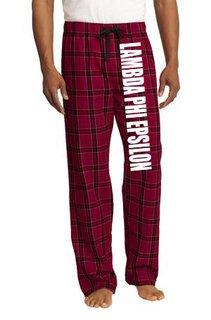 Lambda Phi Epsilon Pajamas Flannel Pant