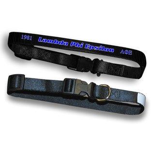 Lambda Phi Epsilon Pet Collar