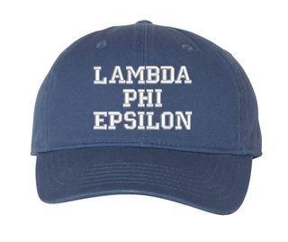 Lambda Phi Epsilon Pigment Dyed Baseball Cap