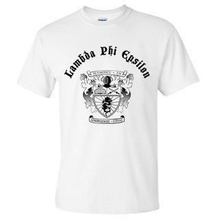 Lambda Phi Epsilon Vintage Crest - Shield T-shirt