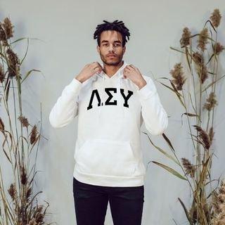 Lambda Sigma Upsilon Arched Hooded Sweatshirt