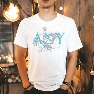 Lambda Sigma Upsilon Greek Crest - Shield T-Shirt
