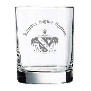 Lambda Sigma Upsilon Old Style Glass