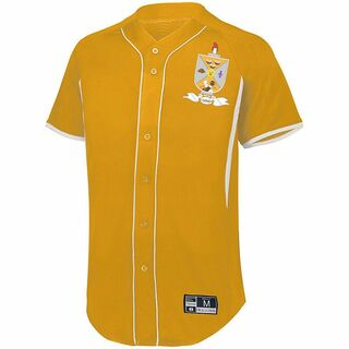 Lambda Theta Phi Game 7 Full-Button Baseball Jersey