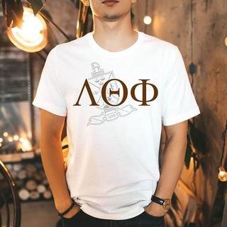 Lambda Theta Phi Greek Crest - Shield T-Shirt