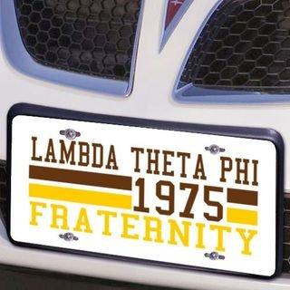 Lambda Theta Phi Year License Plate Cover