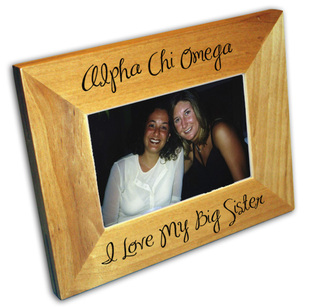Lil Sis Sorority Picture Frame