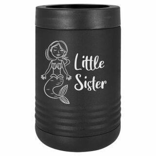 Little Sister Mermaid Stainless Steel Beverage Holder