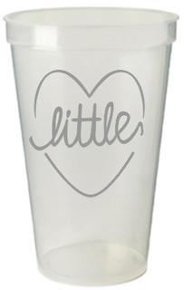 Little Sister Plastic Cup