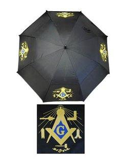 "Mason 30"" Wind Resistant Auto Open Umbrella"
