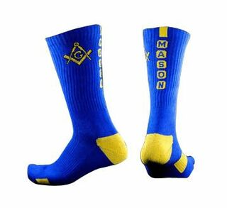 Mason / Freemason Athletic Crew Socks