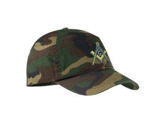 DISCOUNT-Mason / Freemason Camouflage Cap