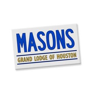 Mason / Freemason Custom Ceramic Magnet