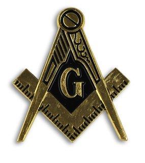 Mason / Freemason Die Cut Car Badges