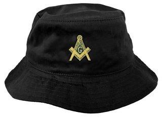 DISCOUNT-Mason / Freemason Mens Floppy Hat