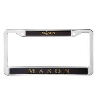 Mason / Freemason Metal License Plate Frame