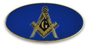Mason / Freemason Oval Car Badges