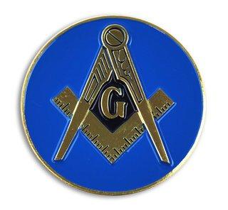 Mason / Freemason Round Car Badges