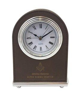 Mason / Freemasons Arch Desk Clock